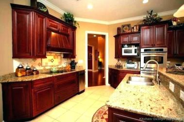 Kitchen Colors With Cherry Cabinets Homifind