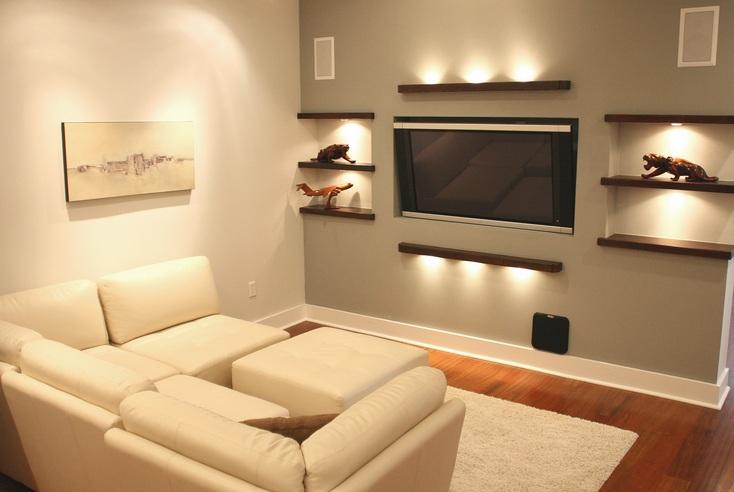 Small Tv Room Ideas Good Lighting Design Chairs Dining ...