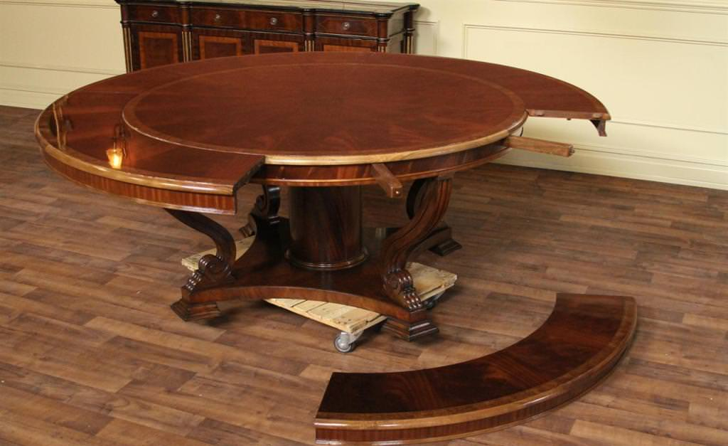 Expandable Round Dining Table Homifind