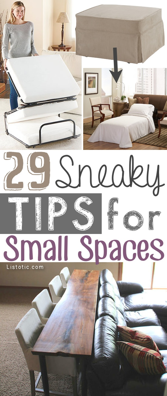 Ton Clever Hacks Storage Ideas Small Spaces Homes Apartments Sneaky Diy Space Organization Budget Homifind