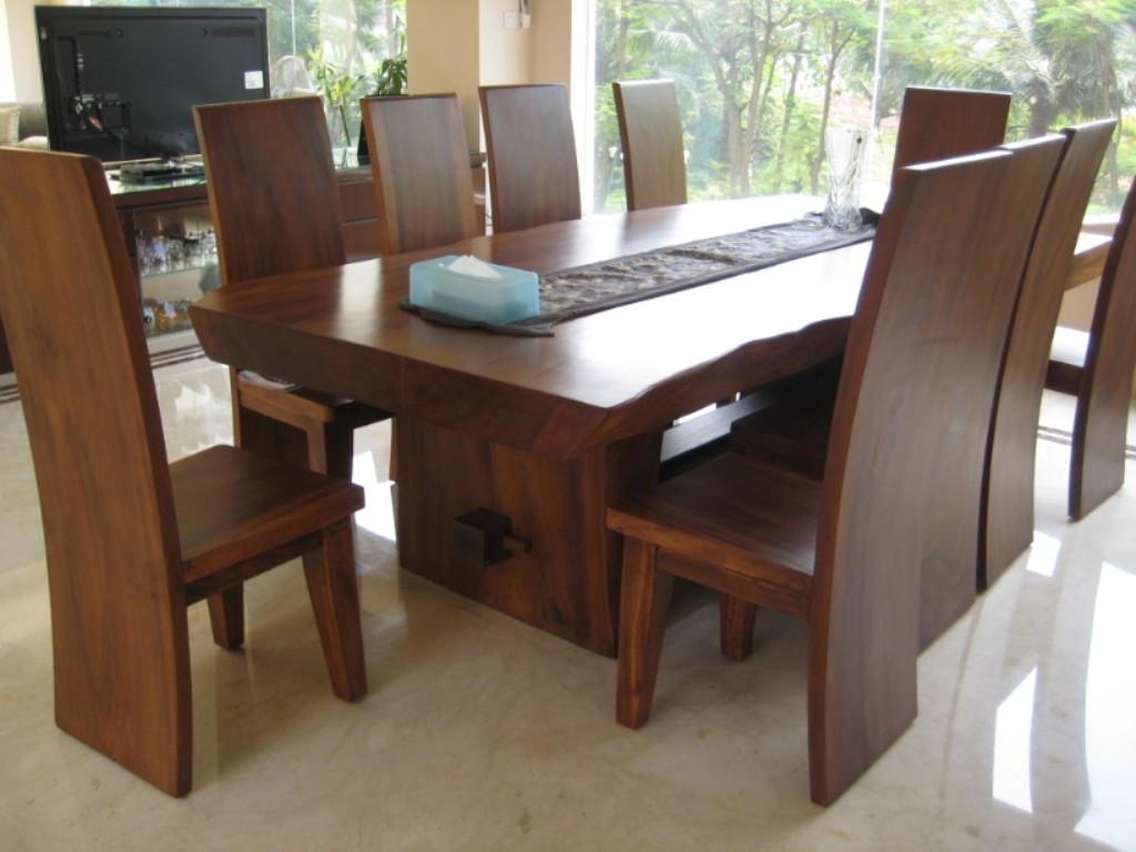 Modern Wood Dining Table Homifind
