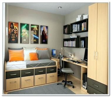 Storage Ideas For Small Bedrooms – HOMIFIND