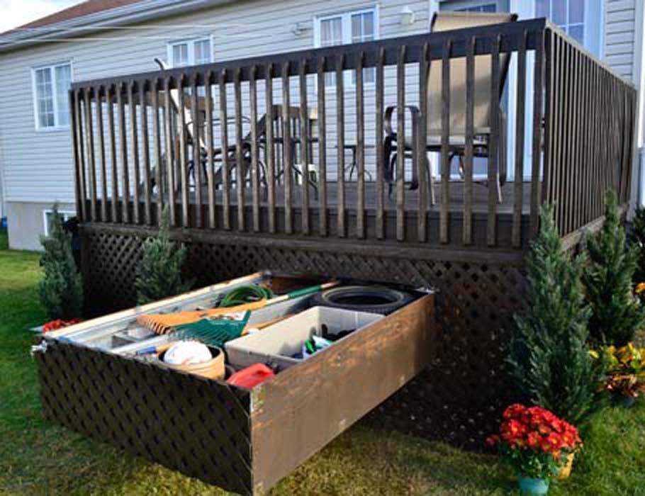 Deck Storage Drawer Homifind