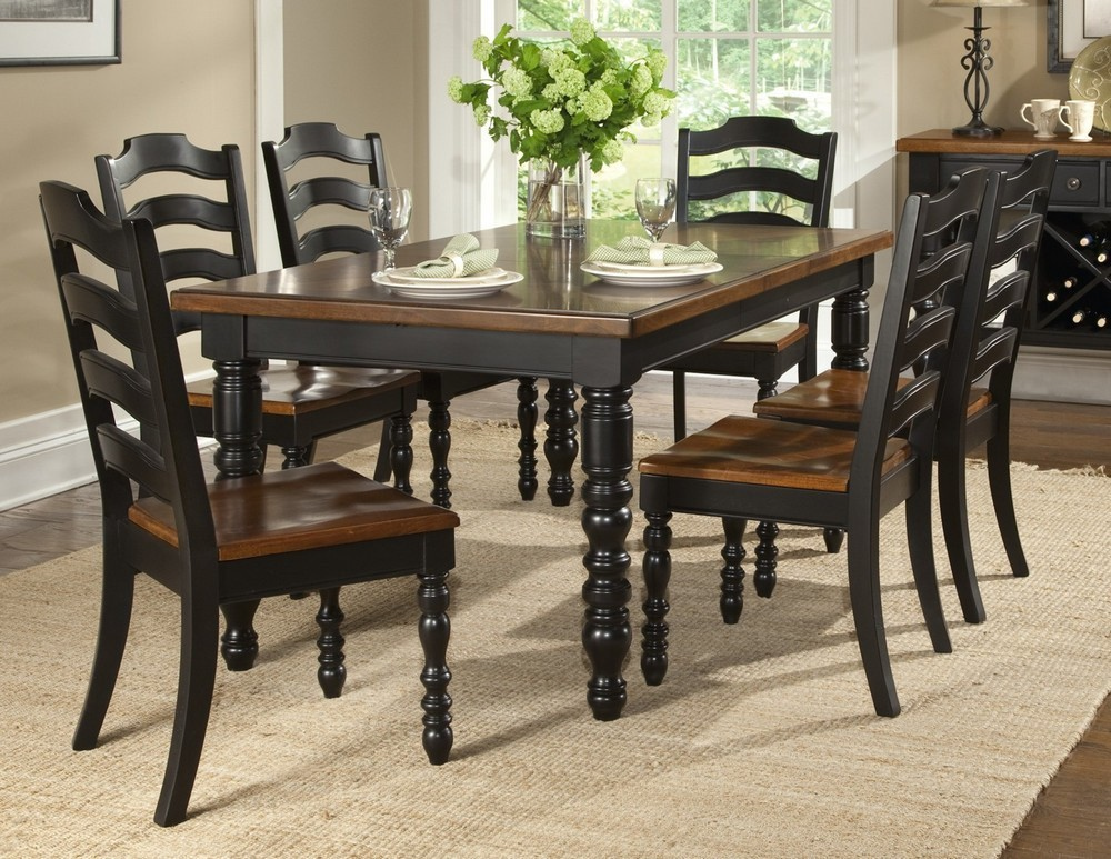 Black Dining Room Chairs Homifind